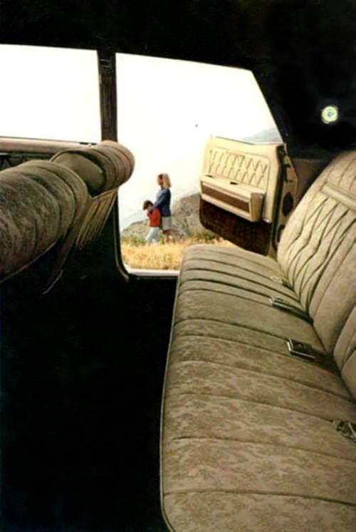 1968 Lincoln Continental Interior Trim