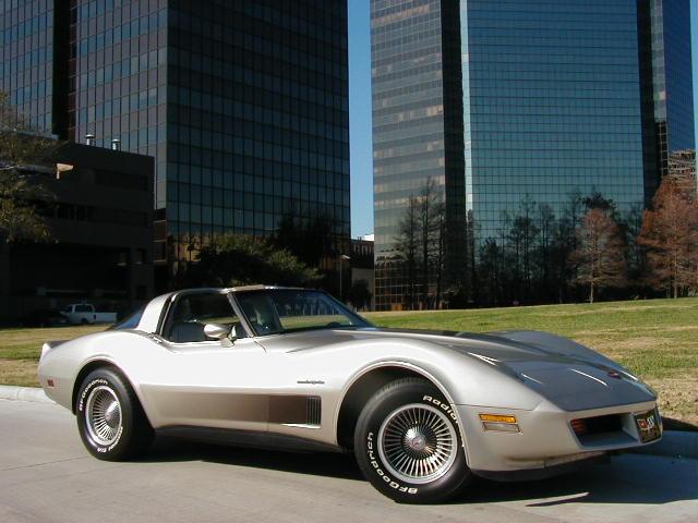 1982 Chevorlet Corvette From Coke Bottle To Crossfire