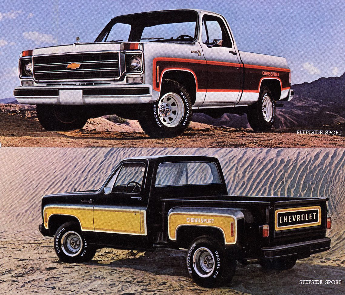 1979 Chevy Truck Stock Paint Colors
