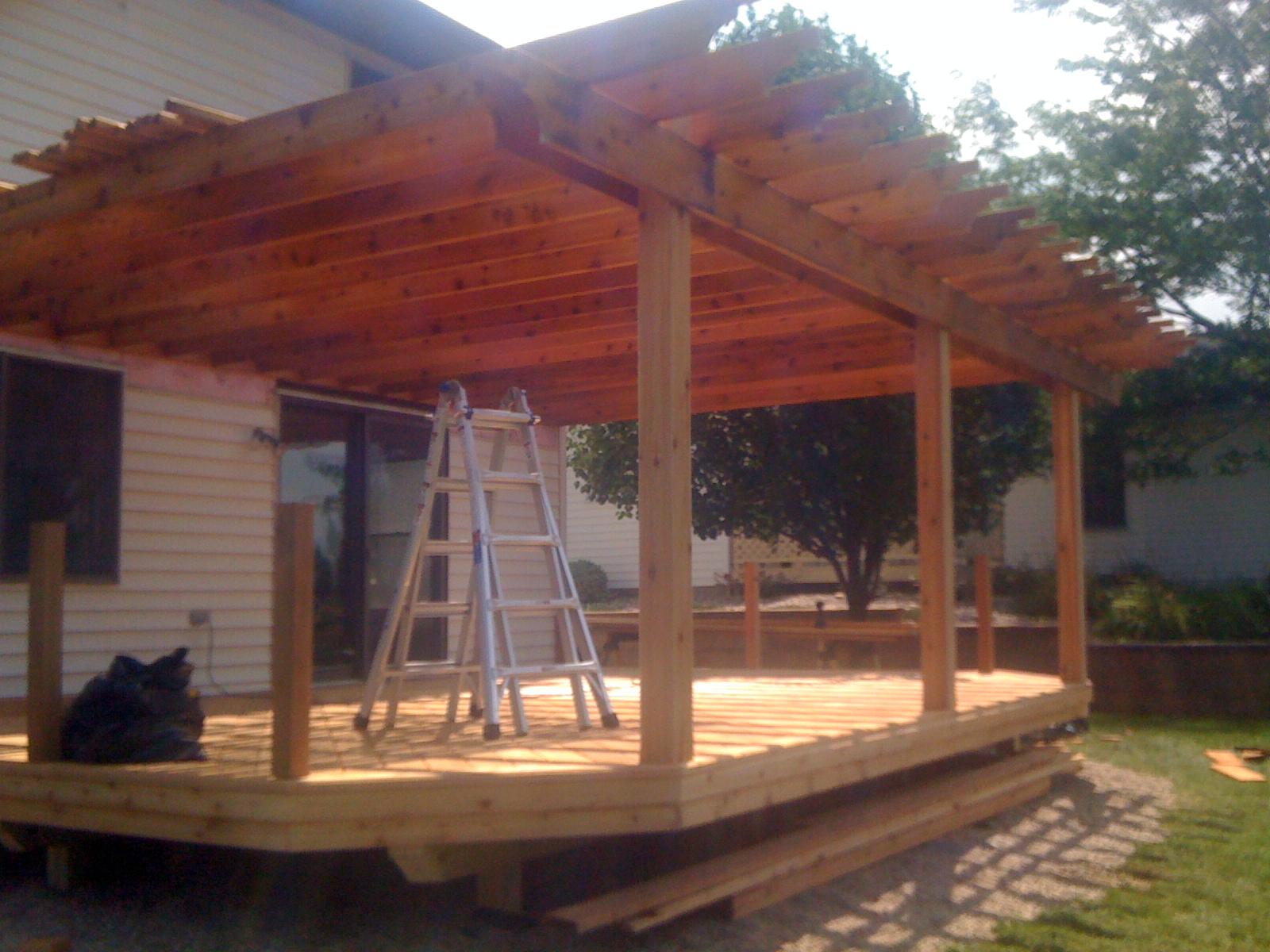 Cedar Wood Decks In Michigan Autumnwoodconstruction S Blog