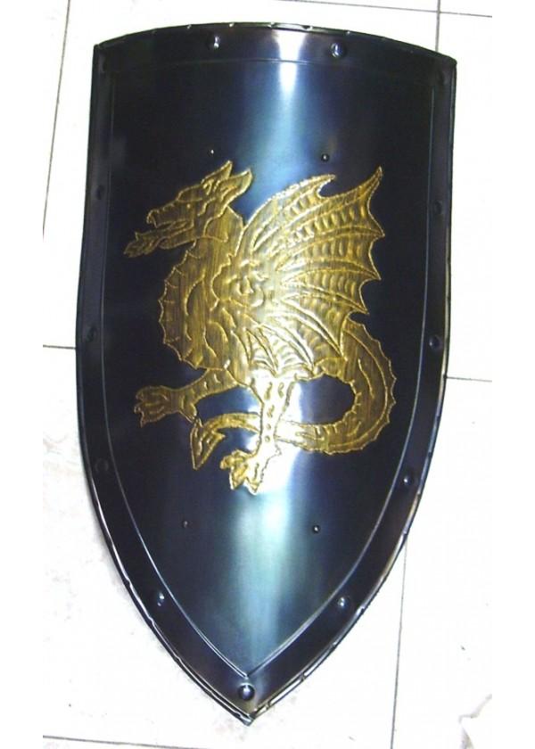 Bouclier M 233 Di 233 Vale Bouclier Avec Dragon Ail 233 Bouclier