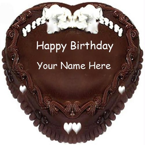 Write Cake Name Edit Happy Birthday
