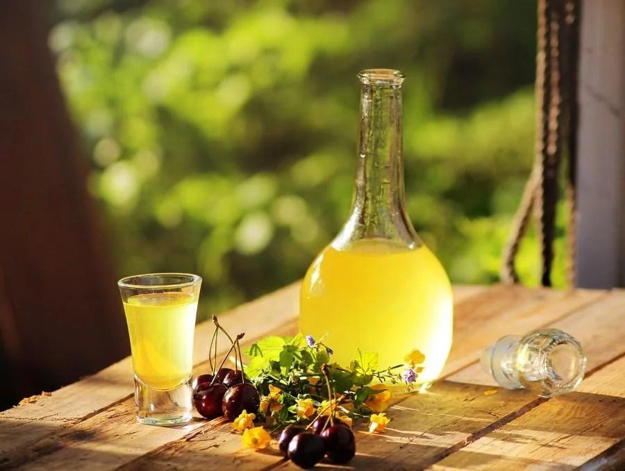 Лимончерло алкогольге