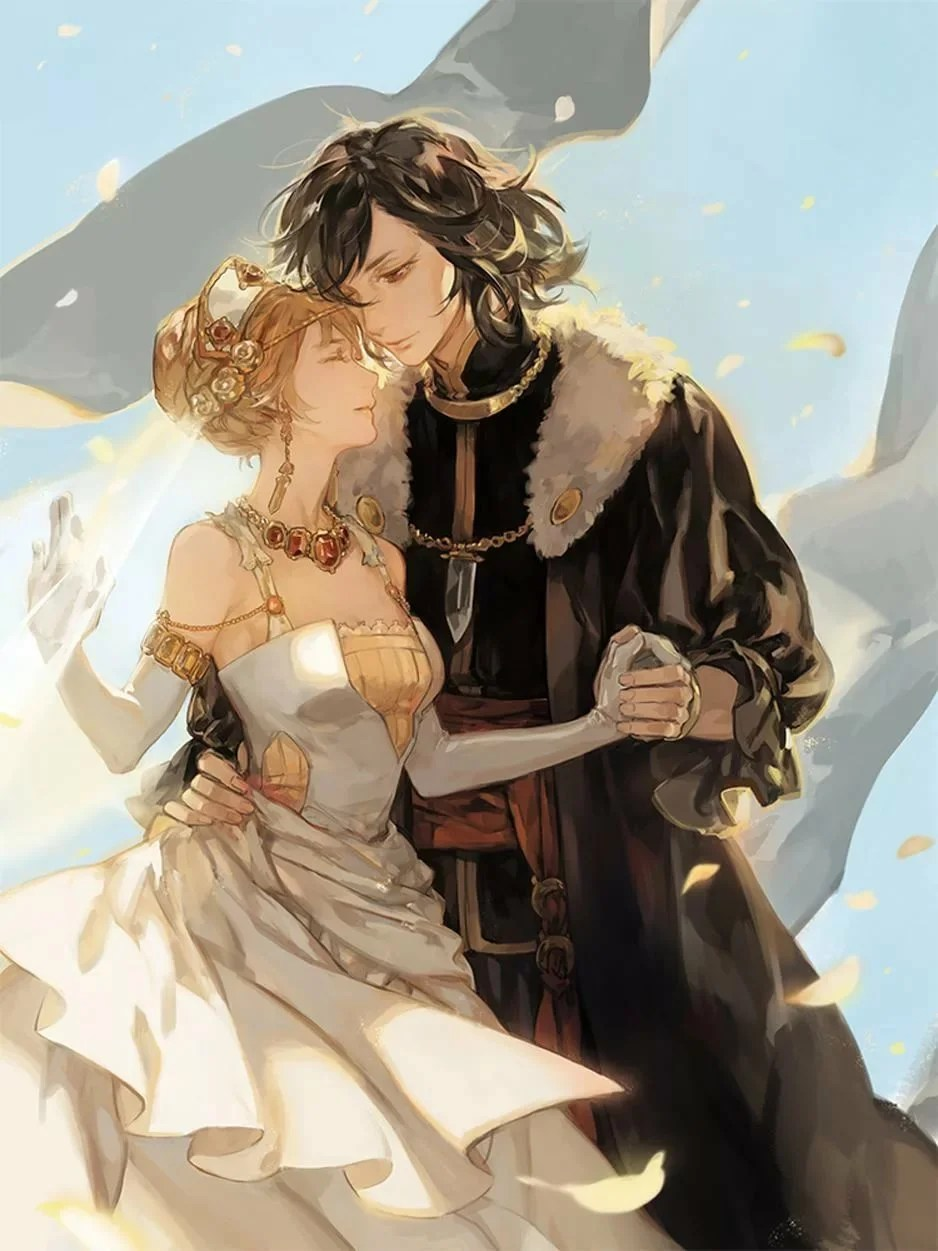 knight and princess - 736×981