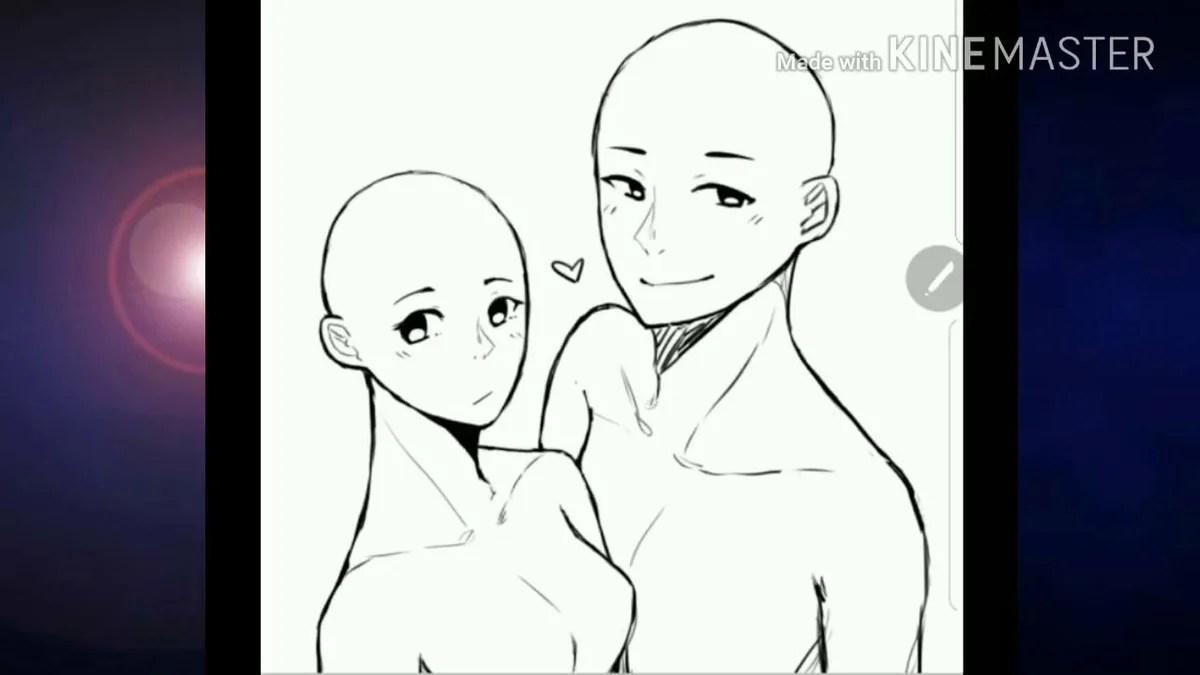 anime base couple - 700×720
