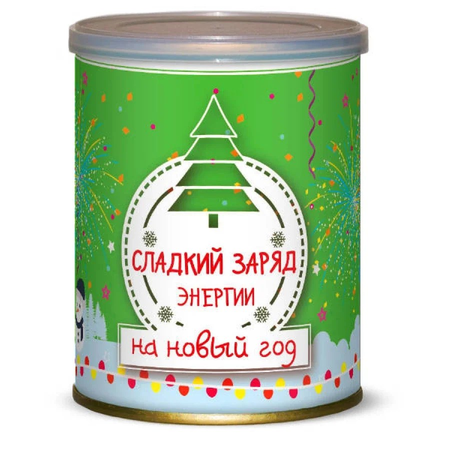Sweet canned food - a gift for the new year