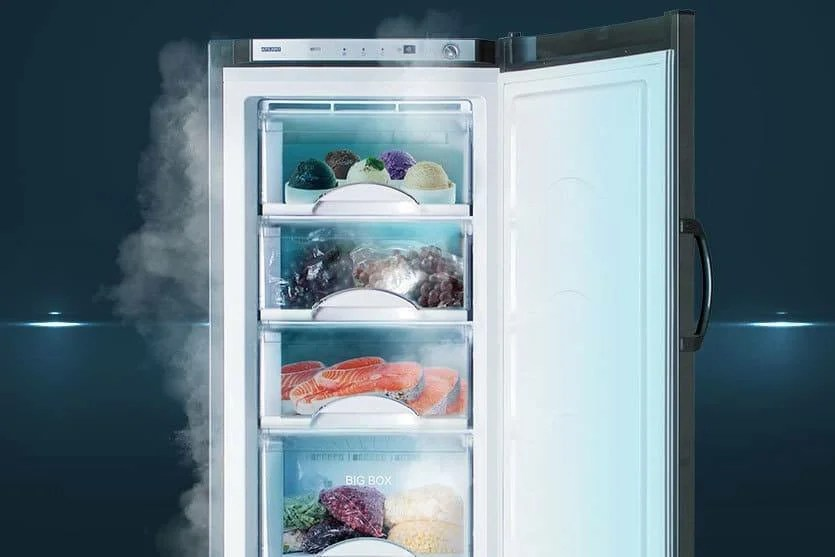 Fast Freezing Products (Source Photo - Yandex. Martinki)