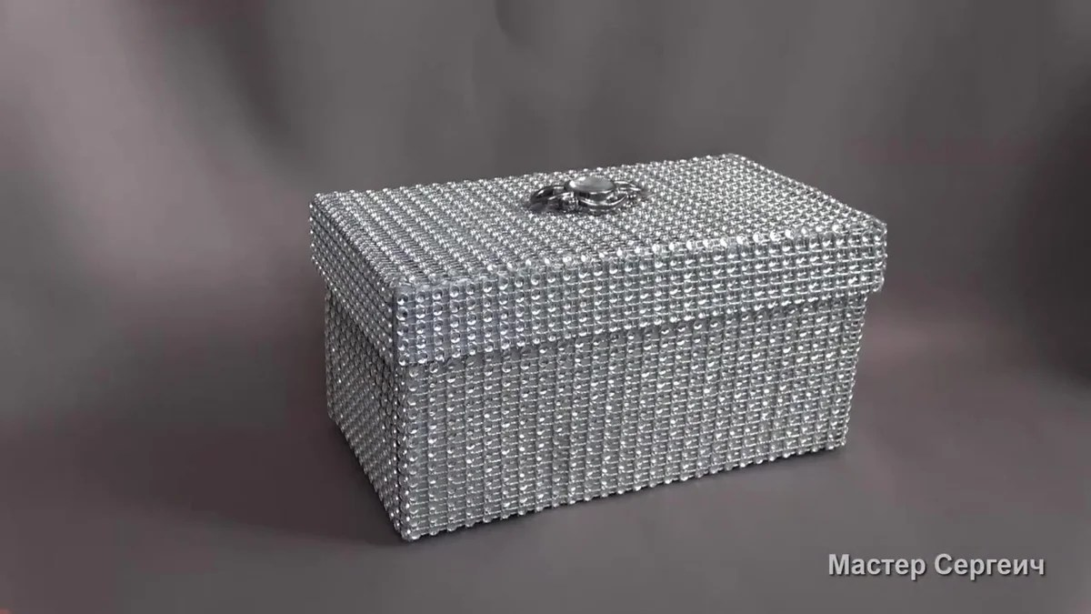 Do not throw away the box from shoes, it turns out a chic box