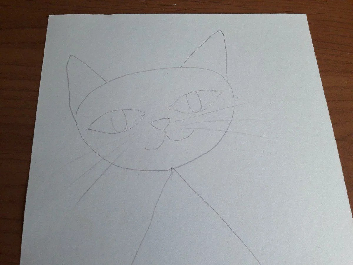 Comment dessiner un chaton facile