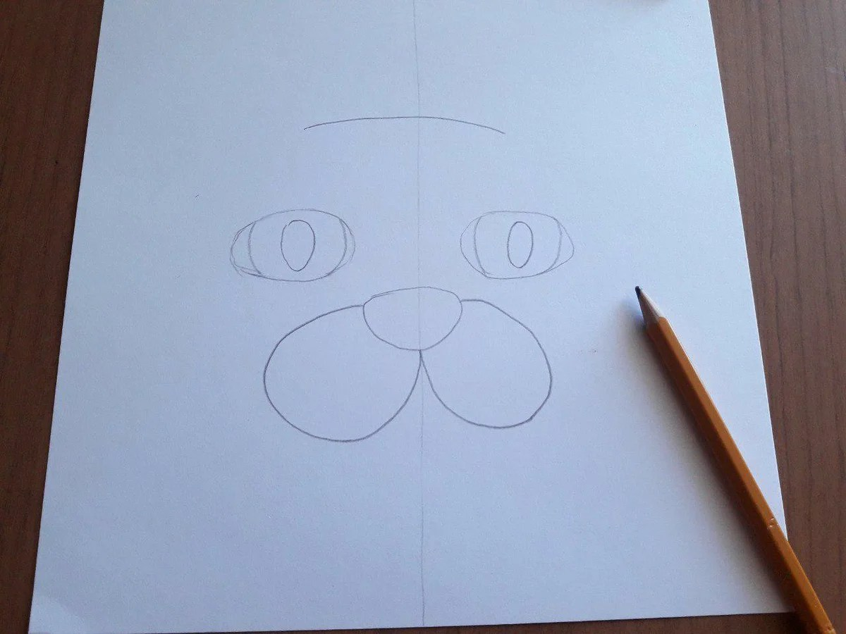 3 ways to draw a kitty with children