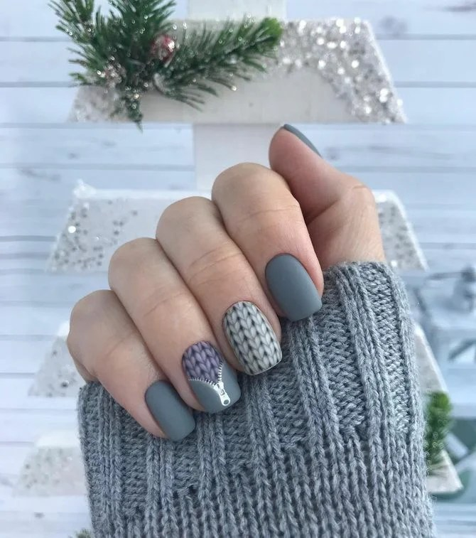 Beautiful manicure for the new year 2021: The best options for festive Neil Art