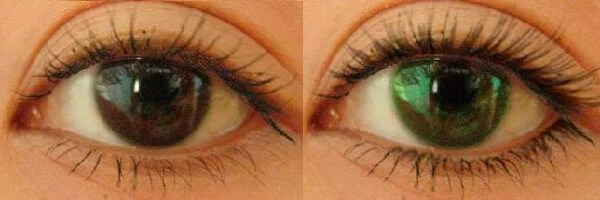 How to change the color of the eyes without lenses, lenses, operation, ritual
