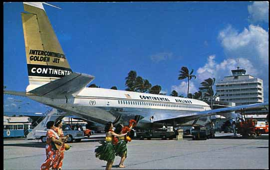 Hawaii Aviation   Continental Airlines