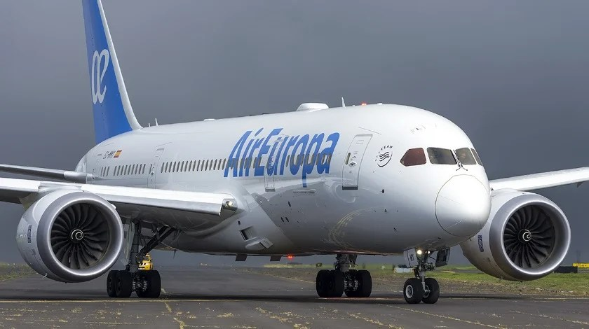 Air Europa Welcomes First Boeing 787-9 in its Fleet ...