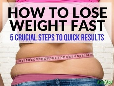 How to Lose 30 Pounds FAST: 5 Simple Scientific Steps ...