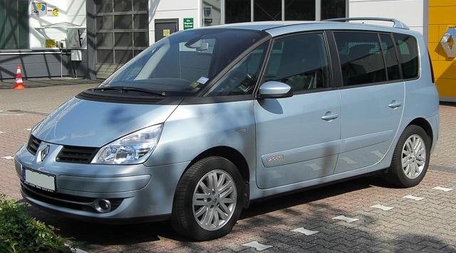 مدرن Minivan رنو Espace IV