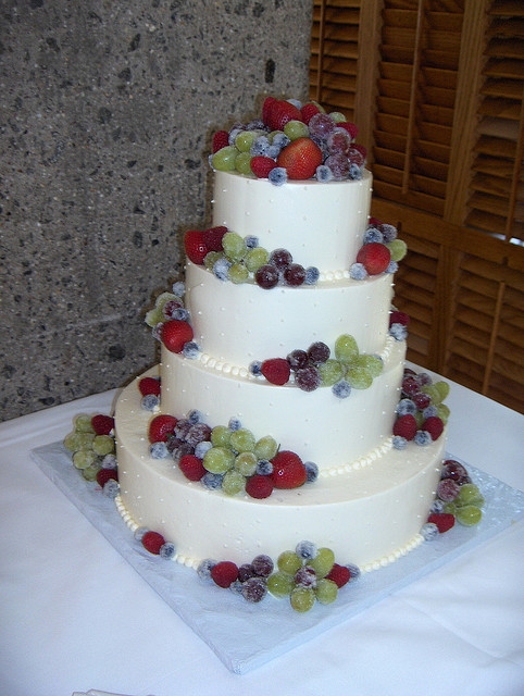 Frosted Fruit Wedding Cake   A Wedding Cake Blog Frosted Fruit Wedding Cake