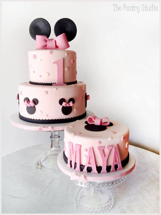 Minnie Mouse On Pinterest Minnie Mouse Cake Smash Cakes