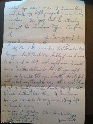 90 Year Old WWII Veteran Finds Long Lost Love Letter At Goodwill love letter
