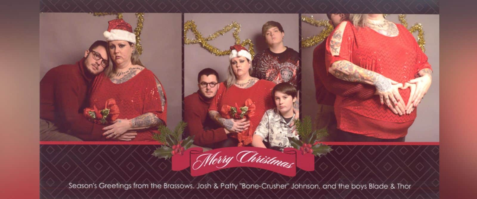 Hilarious Family Christmas Portraits