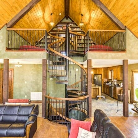 Two Story Multi Story Spiral Staircases Paragon Stairs | 2 Stairs House Design | Interior | Dream House | Box Type | Basic | Ultra Modern
