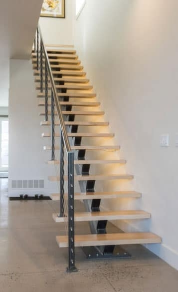 Compact Stairs For Small Spaces Paragon Stairs | Small Stairs For Small Spaces | Design | Small Apartment | Small Living Area | Compact | Tiny House