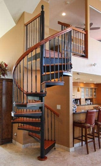 Metal Staircases Prefab Indoor Outdoor Paragon Stairs | Outside Metal Stair Railing | Steel | Concrete | Steel Handrail | Porch | Outdoor Stair