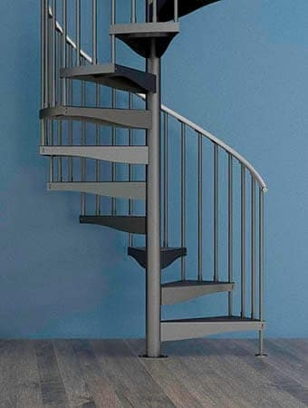 Staircase Designs For Every Project Budget Paragon Stairs | External Spiral Staircase For Sale | Stair Treads | Staircase Ideas | Steel Spiral | Metal Spiral | Staircase Railings