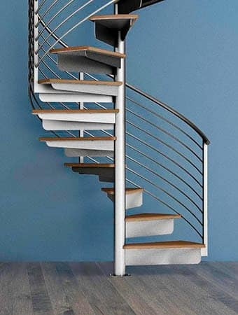 Staircase Designs For Every Project Budget Paragon Stairs | Outdoor Spiral Staircase Near Me | Staircase Ideas | Staircase Kits | Balcony Railing | Oak70 Xtra | Wrought Iron