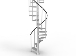 Staircase Archives Paragon | 10 Ft Spiral Staircase | Handrail | 36 Tall | Arke Phoenix | Stair Kit | Arke Enduro