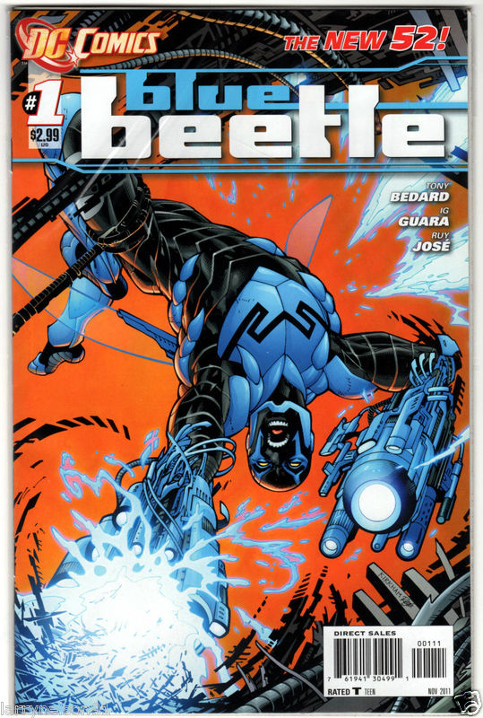 The New 52 Blue Beetle Legion Of Super Heroes And Teen