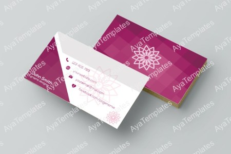 Business card template design        Graphic designer        AYA Templates Business card template design