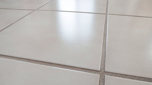 Cleaning Ceramic is a Cinch   Mr  Clean     Step One  Tidy up your tile