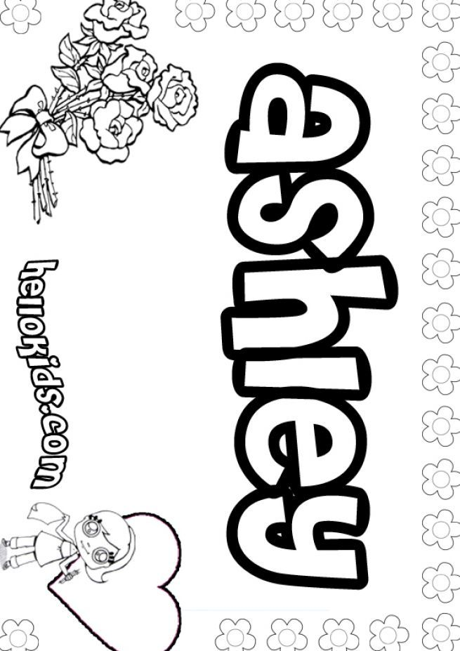 Make Your Name Pages Coloring Pages