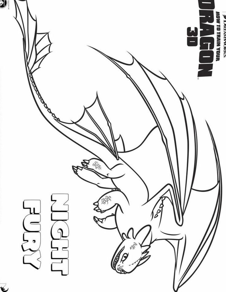 How To Train Your Dragon Boneknapper Coloring Pages Sketch ...