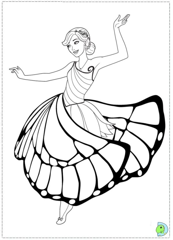 fairy princess coloring pages # 17