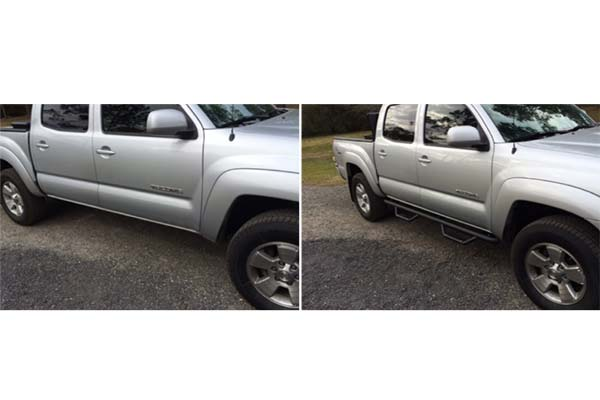 Step 2014 Side Bars Toyota Tacoma