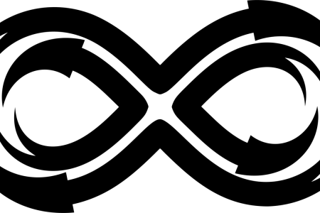White Infinity Symbol Transparent 4k Pictures 4k Pictures Full