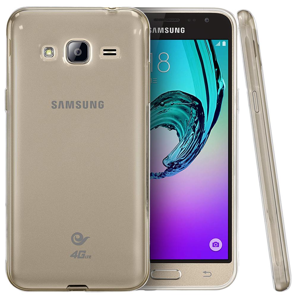 Samsung Galaxy J3 Case, Slim & Flexible Anti-shock Crystal ...