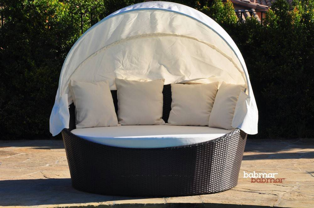 Outdoor Daybed With Canopy Babmar Com Commercial Outdoor