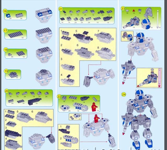 Lắp ráp robot chuyển đổi