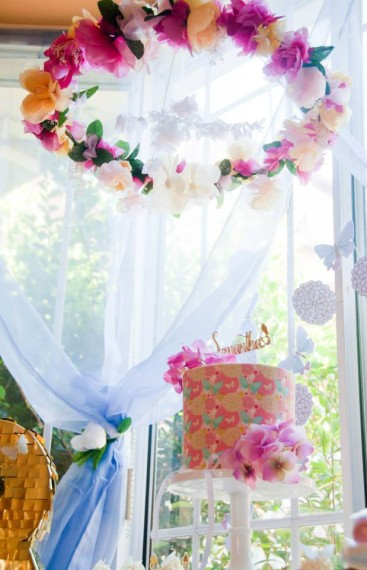 Butterflies And Flowers Celebration Baby Shower Ideas