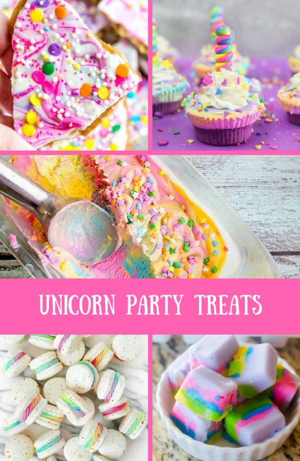 My Favorite Unicorn Party Treats Recipes Baby Shower