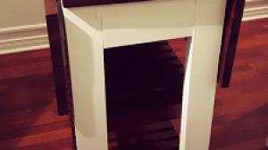 DIY Drop Leaf Kitchen Island / Cart Bachelor On A Budget