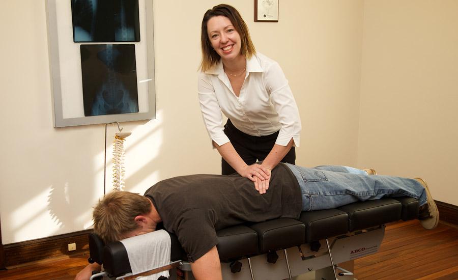 Pretend Paperwork Chiropractor