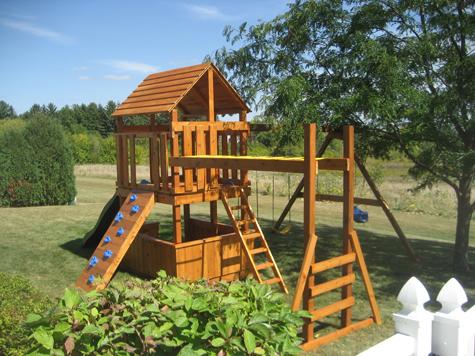 Free Diy Playhouse Backyard Playground Plans Plans Diy How