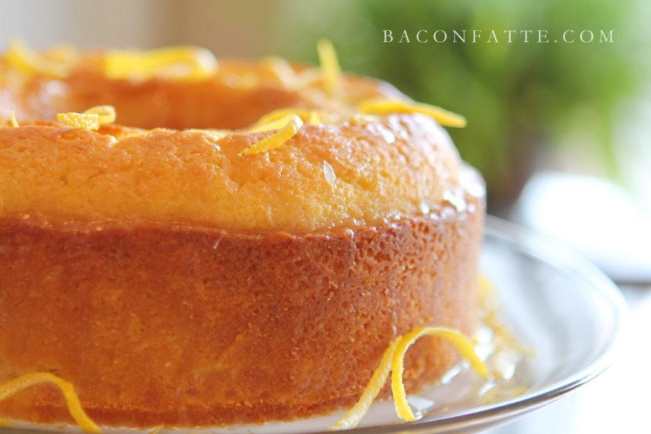 Bacon Fat Happy Birthday Cake
