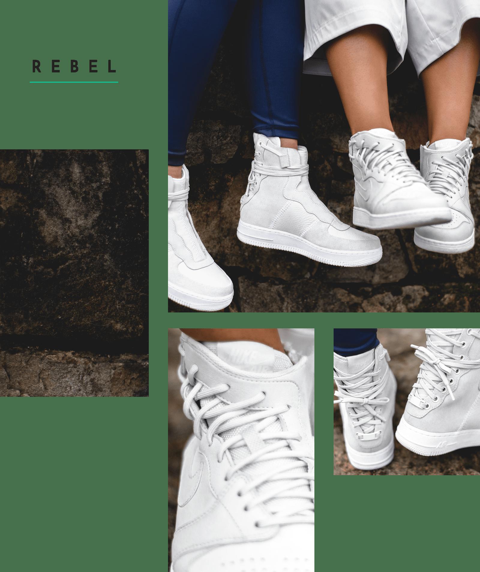 On Feet Look At Nike S The 1 Reimagined Rebel Hypebae