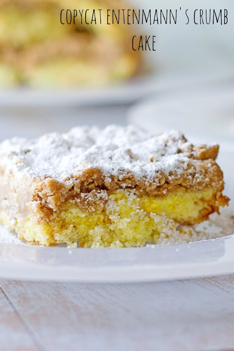 New York's favorite crumb cake is Entenmann's. Try this copycat and see why!