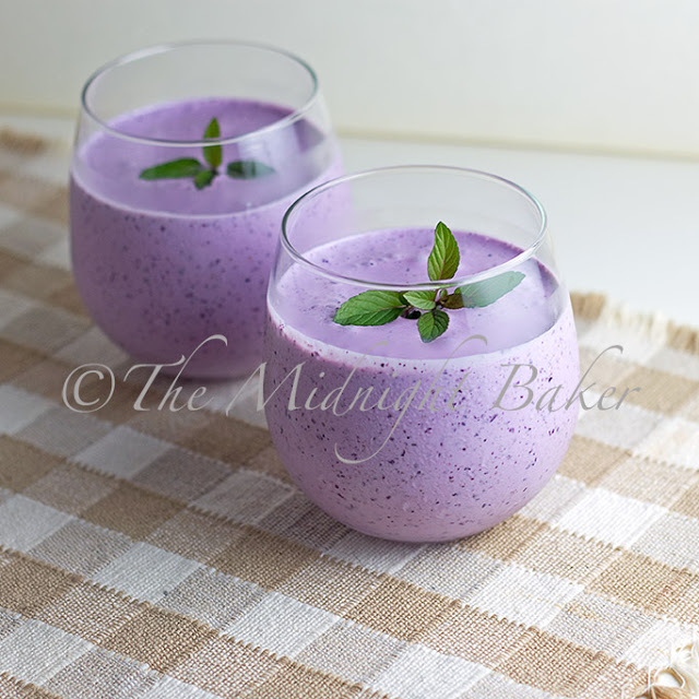 Blueberry Creme Smoothie